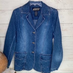 Stephen Hardy Squeeze Womens Denim Jean Jacket